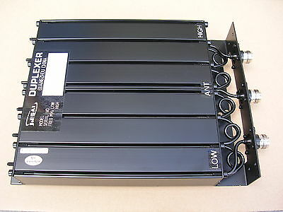 UHF 6 Cavity Duplexer SQ 50W 380-520Mhz for Radio Repeater (N/BNC) Connector