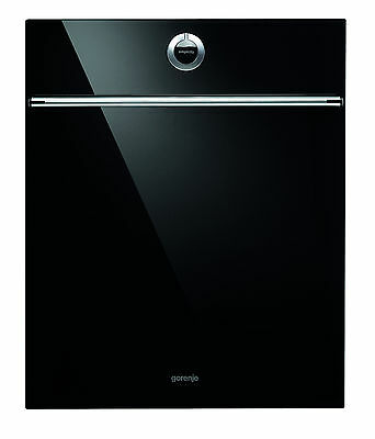 Gorenje DFD72SYB Black glass & Stainless steel handle decorative plate