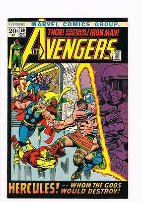 Avengers # 99 Whom the Gods Destroy ! grade 7.5 scarce hot book !!