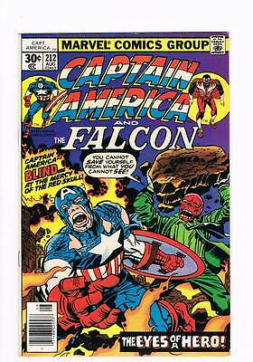 Captain America # 212 The Face of a Hero! Yours ! grade 9.0 hot book !!