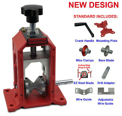 NEW Copper Wire Stripping Machine Hand Crank or Drill Operated =BEST VALUE=