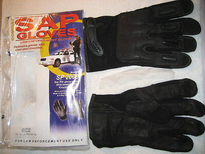 SAP Combat Law Enforcment 8 oz. Steel Shot Gloves - BRAND NEW!!