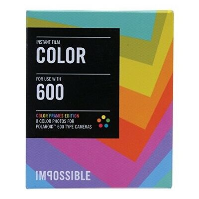 Impossible PRD2959 Color Film for Polaroid 600-Type Camera Frame 5-Pack