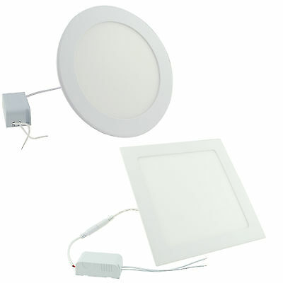 Dimmable Recessed LED Panel Light Epistar 9W 12W 15W 18W 21W Ceiling Down Lights
