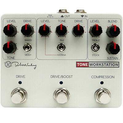 New Keeley Electronics Tone Workstation Pedal