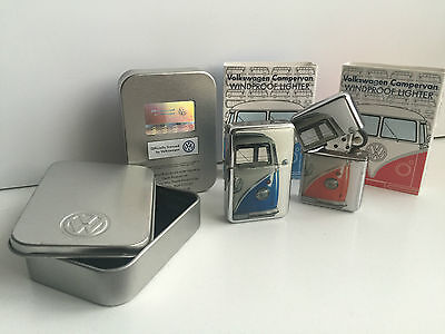 Engraved Personalised Genuine Vw Windproof Campervan Lighter Officially Licensed