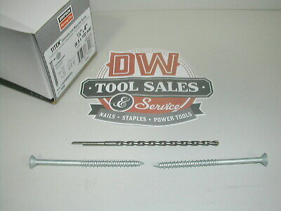 Titen® Stainless-Steel Concrete and Masonry Screw (400) Case 4″