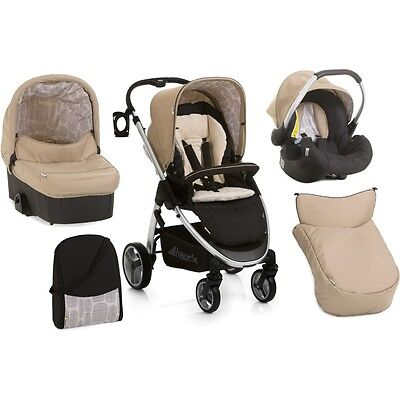 Hauck Lacrosse All in One Travel System (Rock Black)