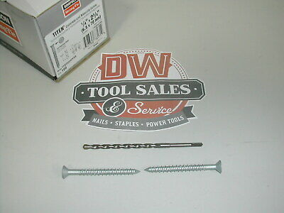 """Titen® Stainless-Steel Concrete and Masonry Screw 2 3/4"""" (500) Case"""