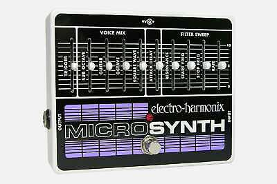 Electro-Harmonix Micro Synth guitar effect pedal NEW