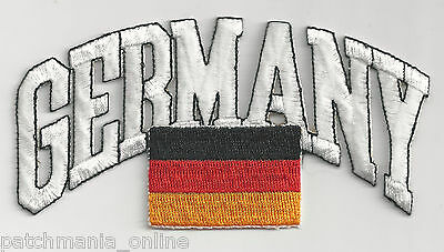 Germany - Flag - Iron On Patch