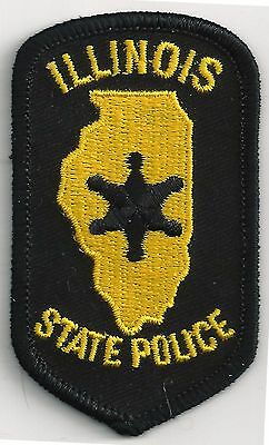 ILLINOIS STATE POLICE - POCKET/HAT SIZE - IRON or SEW-ON PATCH