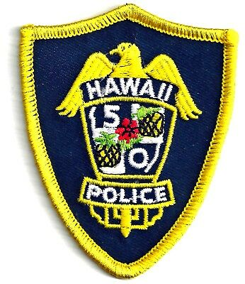 Hawaii 5-0 - Iron On Patch