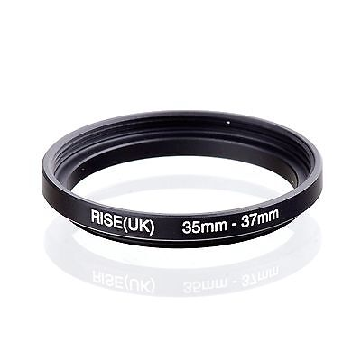 RISE(UK) 35-37mm Step-Up Stepping Metal Lens Adapter Filter Ring Camera Adapter