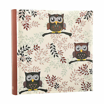 Owl design Photo  6'x4' Album Slip In Case Memo Album for 200 photos AL-9770