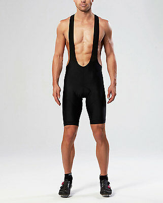 NEW 2XU Road Comp Cycle Bib Shorts Mens Base Layers