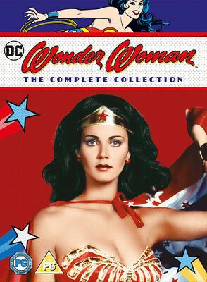 Wonder Woman: The Complete Collection DVD (2016) Lynda Carter ***NEW***