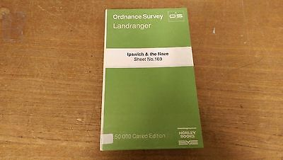 Ipswich & The Naze: Ordnance Survey Landranger Map 1:50000 Sheet #169 (M3)