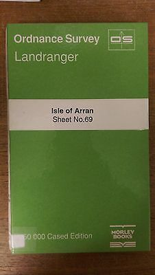Isle Of Arran: Ordnance Survey Landranger Map 1:50000 Sheet #69 (M10)