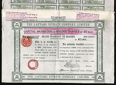 1925 Chile: The Lautaro Nitrate Company Limited