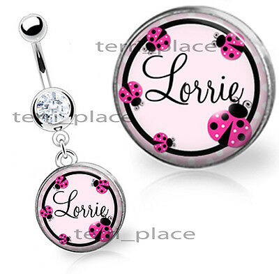 Custom Valentine Heart Personalized Belly Ring 9 99 Picclick