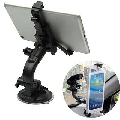 Car Windshield Desk Suction Cup Top Mount Bracket Holder for iPad Tablet PC 7''