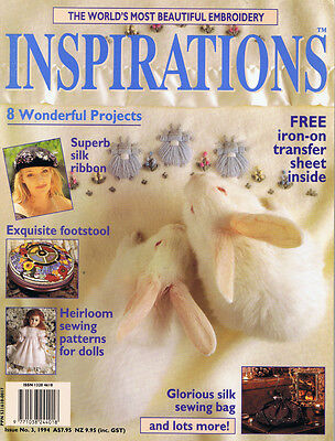 INSPIRATIONS MAGAZINE issue 3 PATTERNS ATTACHED