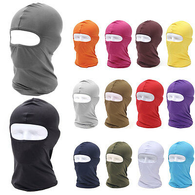 Balaclava Windproof Cotton Mask Full Face Neck Guard Outdoor Riding Hat Cap