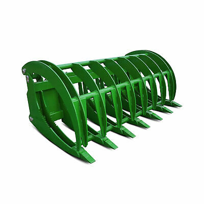 "Titan 84"" HD Root Grapple Rake Attachment fits John Deere Loaders"