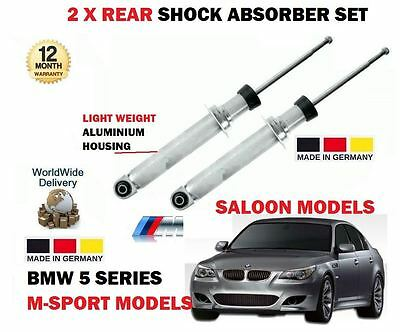 For Bmw 5 Series M Sport E60 2003-2010 2 X Rear Left + Right Shock Absorber Set