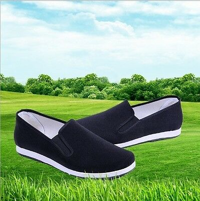 Chinese Traditional Shoes Rubber Sole Kung Fu Tai Chi Martial Arts Slippers New
