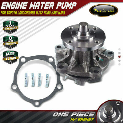 Water Pump  for Toyota Landcruiser HJ47 HJ60 HJ61 HJ75 2H 2HT 4.0L Diesel Engine