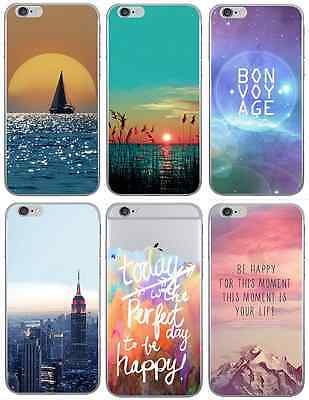 "New Ultra-Thin Transparent Scenery Apple iPhone 6 (4.7"") Clear Back Case Cover"