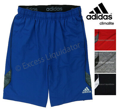 ADIDAS Men's CLIMALITE Ultimate SC Athletic Gym Shorts