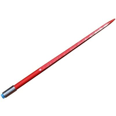 "24"" Square Hay Bale Spear 1350 lb capacity 1 3/8"" wide w/ nut and sleeve Conus 1"