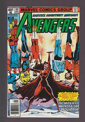 Avengers # 187  The Witch on Wundagore Mountain !  grade 8.0 scarce book !