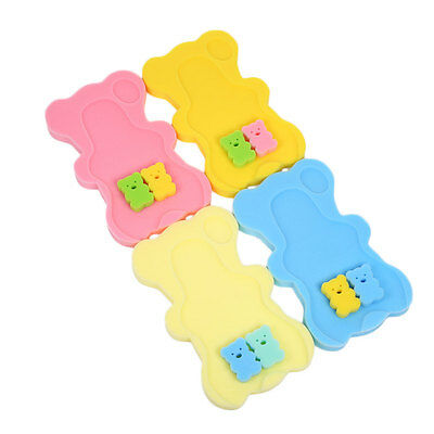 Baby Infant Soft Bath Sponge Foam Anti-Slip Mat Support Safety Comfort Bathtime