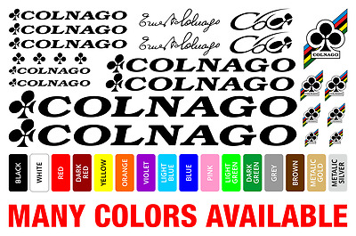Colnago vinyl decals stickers frame replacement graphic set aufkleber adesivi