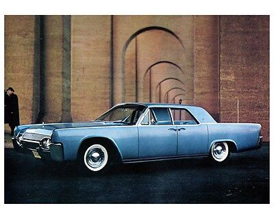 1961 Lincoln Continental Factory Photo ca5683
