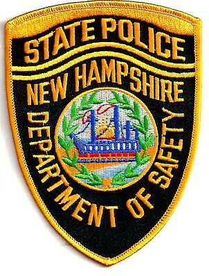 New Hampshire State Police - Shoulder Iron / Sew On Patch