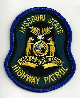 Missouri State Highway Patrol - Shoulder Iron On Patch