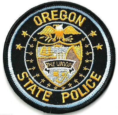 Oregon State Police - Iron / Sew On Patch