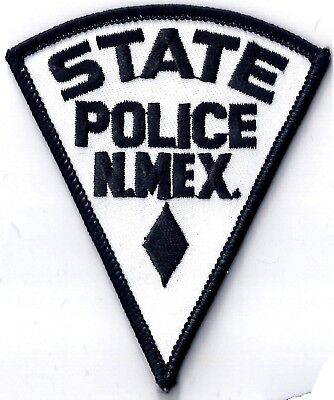 State Police Of New Mexico - Shoulder Iron / Sew On Patch