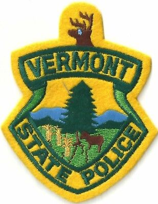 Vermont State Police - Shoulder Iron / Sew On Patch