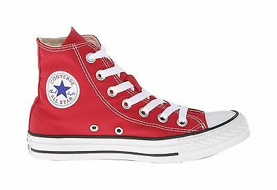 Converse Women Shoes All Star Chuck Taylor Red Hi Top Canvas Sneakers M9621