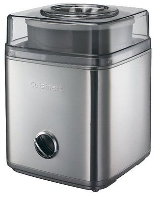 Cuisinart ICE30 ice cream deluxe use to make ice cream, frozen yoghurt, sorbets