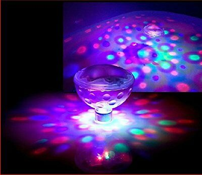 Underwater LED disco aquaglow ball light show for pond, pool, spa, hot tub etc