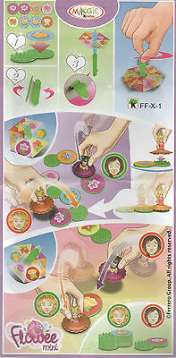 Kinder Surprise Maxi 150 g  Surprise Toy / Game Flowee Mini FF-X-1
