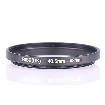 RISE(UK) 40.5-43mm 40.5-43 Step-Up Metal Lens Adapter Filter Ring Camera Adapter