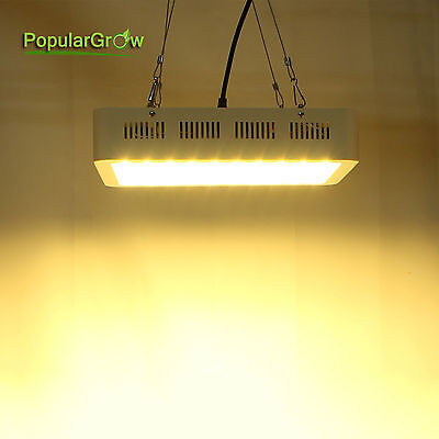 PopularGrow 300W Full Spectrum LED Grow Light 60*5W Indoor Plant Hydroponic Lamp